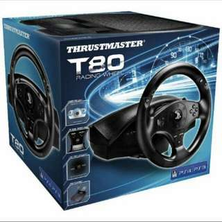 Thrustmaster T80 racing PS3/PS4