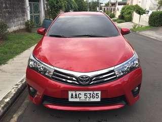2015 Toyota Altis G 1.6 Dual VVTI 22k Mileage only