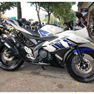 RENTAL R15 V2 YAMAHA FAZER RELIABLE 4 STROKE LEASING SHORT LONG TERM AFFORDABLE RATES