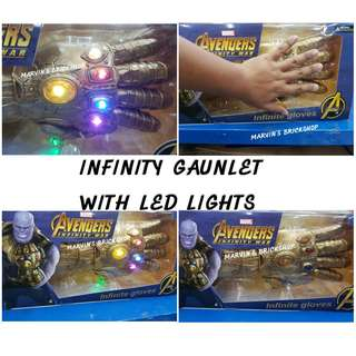 Avengers THANOS Infinity Gaunlet with LED Lights