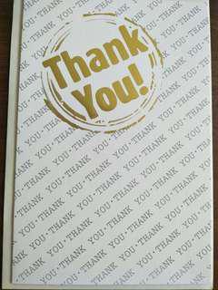 #MRTSengkang Thank You card