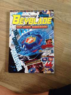 Preloved beyblade explosive guidebook