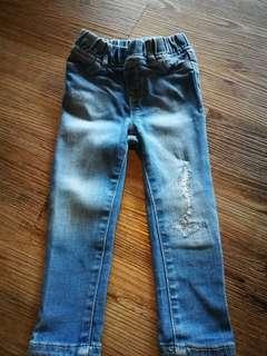 2t unisex babyGap torn jeans