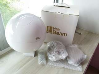 OAZE Hair Beam for hair growth infrared massage therapy.