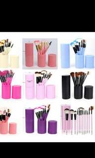 Brush makeup 12pcs