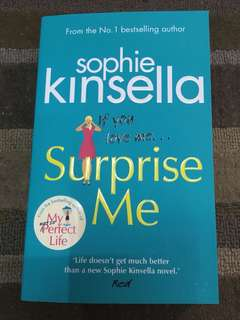 If You Love Me, Surprise Me, Sophie Kinsell