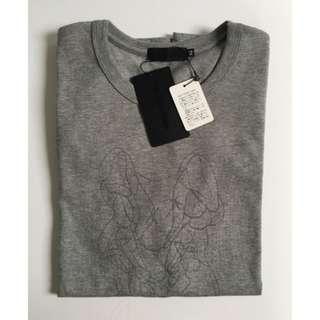 Kaws OriginaFake 灰色短袖T-shirt 2號 全新未使用