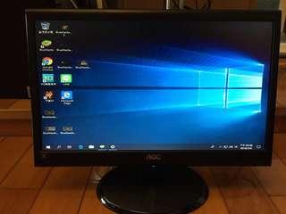 🚚 二手出清🎊$850 AOC 185LM00014 18.5吋電腦螢幕