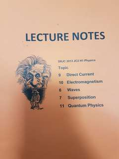 H1 Physics topical notes