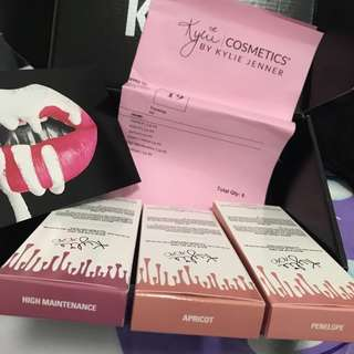Authentic Matte Kylie Lip Kits
