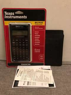 Texas Instruments BA ll Plus Pro