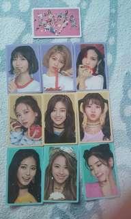 POB Twice Photocards