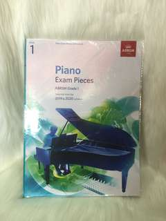 PIANO EXAM PIECES ABRSM 2019 - 2020