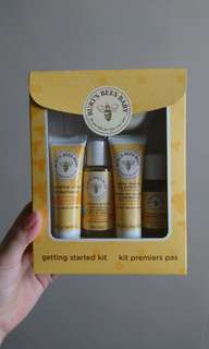 Burt's Bees Baby getting started kit - 5 trial size baby skin care product