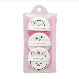 Etude House - My Beauty Tool Air Puff Bundle 3 Puff