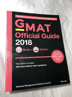 🚚 降價 The Official Guide for GMAT Review (2018) 二手