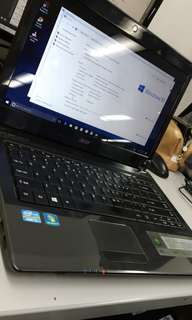 *RePrice* ACER 4752 LAPTOP(with charger & pouch case)