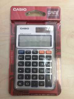 全新 Casio 計算機 SL-880 Game calculator