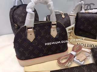 Louis Vuitton Alma BB in Monogram