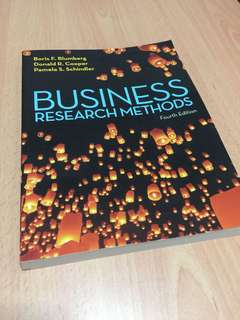 Business Research Methods 4th Edition Murdoch