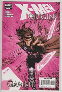X-Men Origins: Gambit Comics One-Shot Marvel