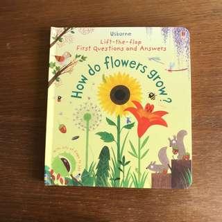 Usborne First Q&A - HOW DO FLOWERS GROW?
