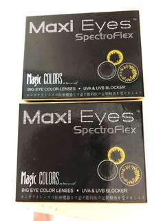 Maxi Eyes Magic Colours Big Eye Colour Soft Contact Lenses