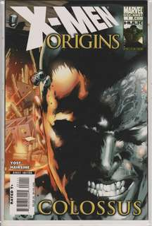X-Men Origins: Colussus Comics One-Shot Marvel