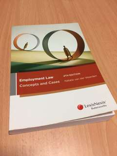 Employment Law - Concepts and Cases Australia 4th Edition Murdoch
