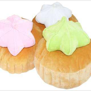 🚚 Naiise Roti Huay Ice Gem Cushion (green)