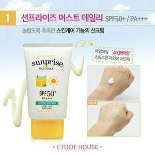 ETUDE HOUSE - Sunprise Must Daily SPF50+/PA+++ (50ml)
