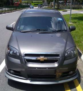 Chevrolet Aveo SS 1.4 for Rent