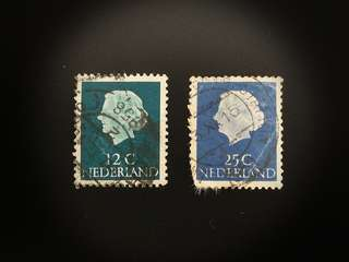 Netherlands Stamps (Set of 2)