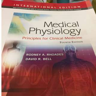 Medical Physiology by Rhoades and Bell