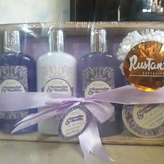 Bath and body collection
