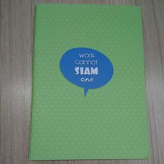 Brand new A6 lined notebook