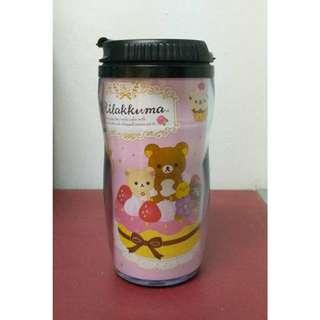 🚚 正版 拉拉熊 懶懶熊 鬆弛熊 rilakkuma 蛋糕 甜點 點心 水杯 水瓶 水壺 曲線杯 翻蓋杯 茶杯