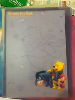 BN Winnie The Pooh A4 Document Folder/File