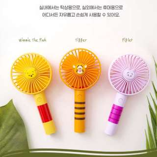 Disney 跳跳虎 Winnie the Pooh 豬仔 Tsum Tsum USB風扇