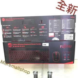 全新Fujitsu 原廠無線Keyboard and Mouse 套裝