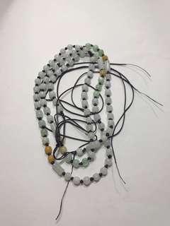 全天然 翡翠 掛件繩