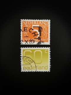 Netherlands Stamps (Set of 2)
