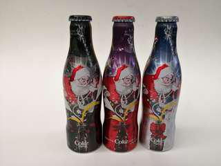 Coca Cola2007年比利時可口可樂聖誕紀念鋁樽