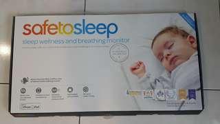 Safe To Sleep 嬰兒呼吸監控床墊(STS100)含居家延伸組