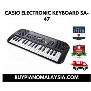 CASIO ELECTRONIC KEYBOARD SA-47