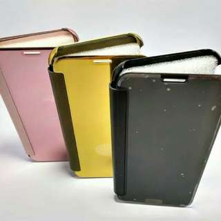 FLIP COVER CLEAR VIEW HARDCASE