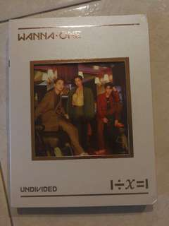 Wts Wanna One Undivided No.1