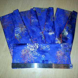 🚚 Tibetan Buddhism Silk Brocade Long Pecha Dharma Book cover / Text Cover