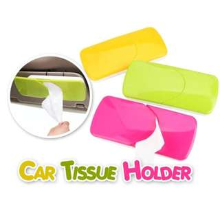 KOREAN DESIGN CAR TISSUE BOX HOLDER FOR VISOR / HEADREST