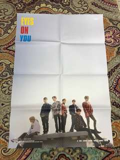 Got7 Eyes On You Official Poster
